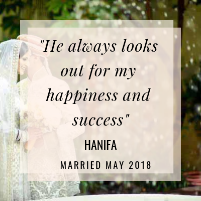 Discover how Hanifa threw away the checklist and followed her heart to the perfect man for her !