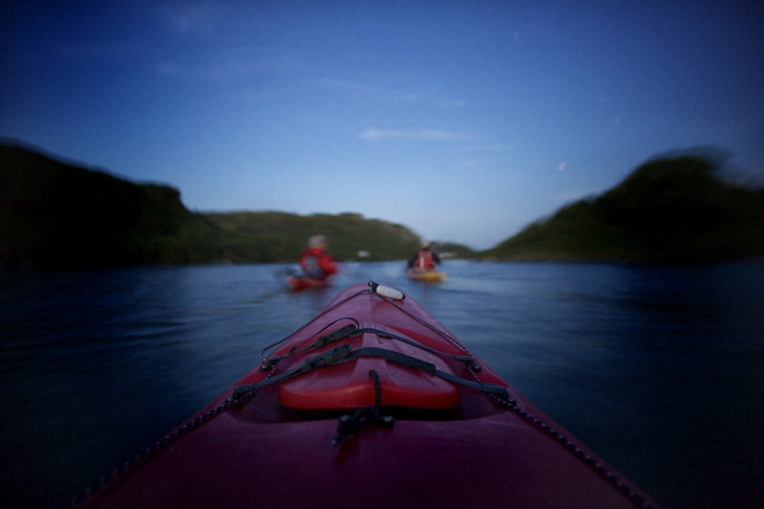 Lough Hyne by kayak (night)