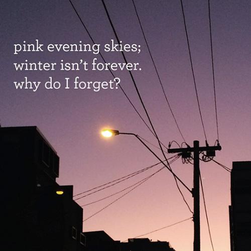 Writing haikus – @haiku.wednesday