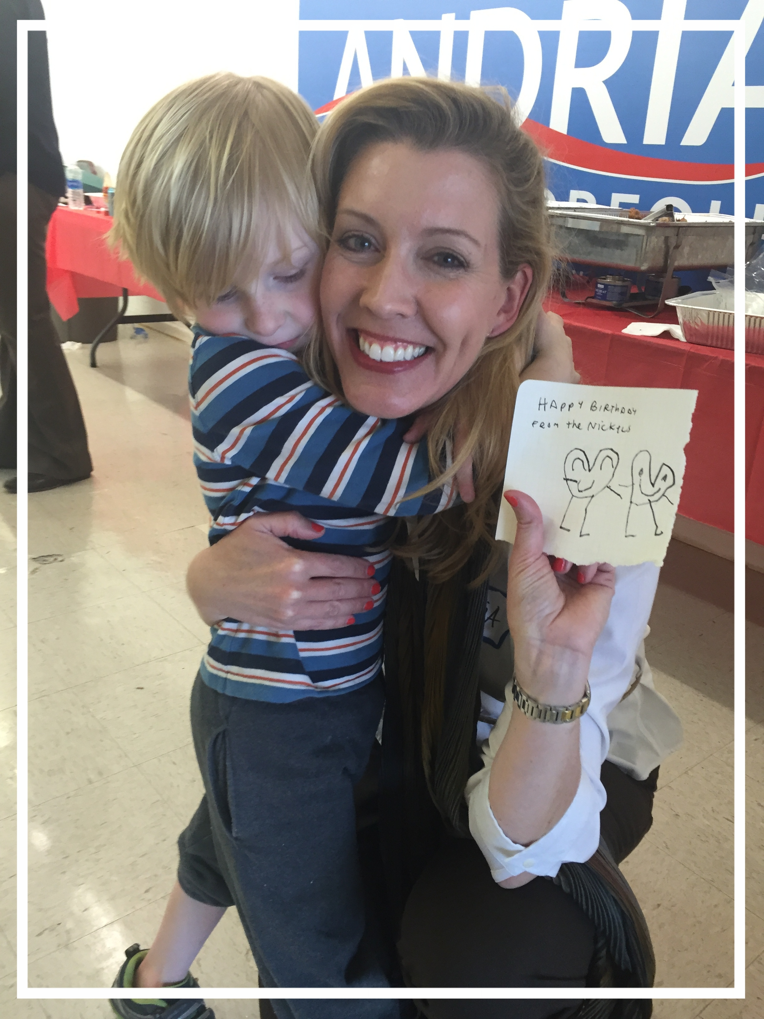 One of my favorite young supporters