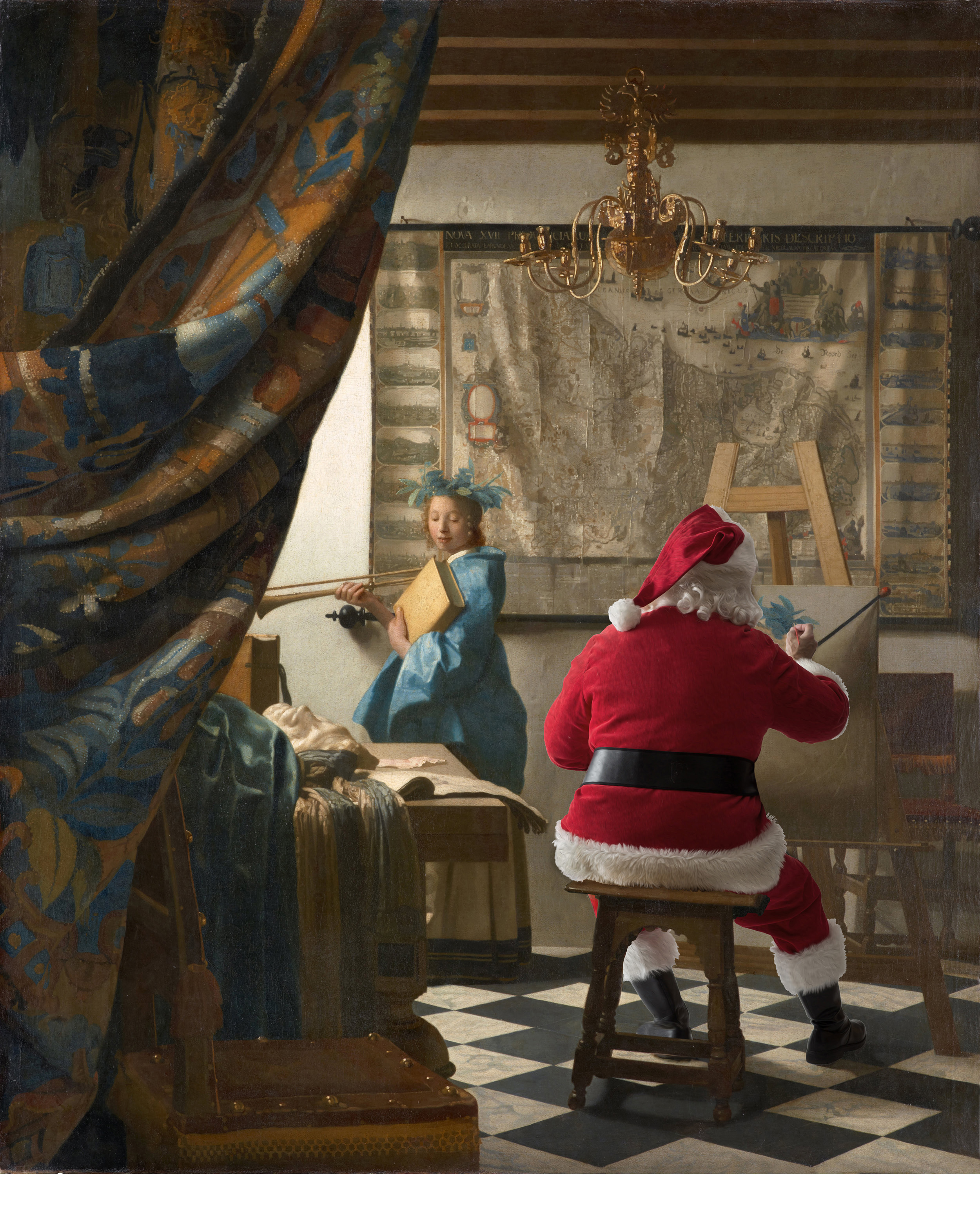 Johannes Vermeer - The Art of Painting