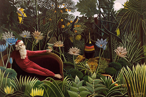 Henri Rousseau - The Dream - 1910 MOMA