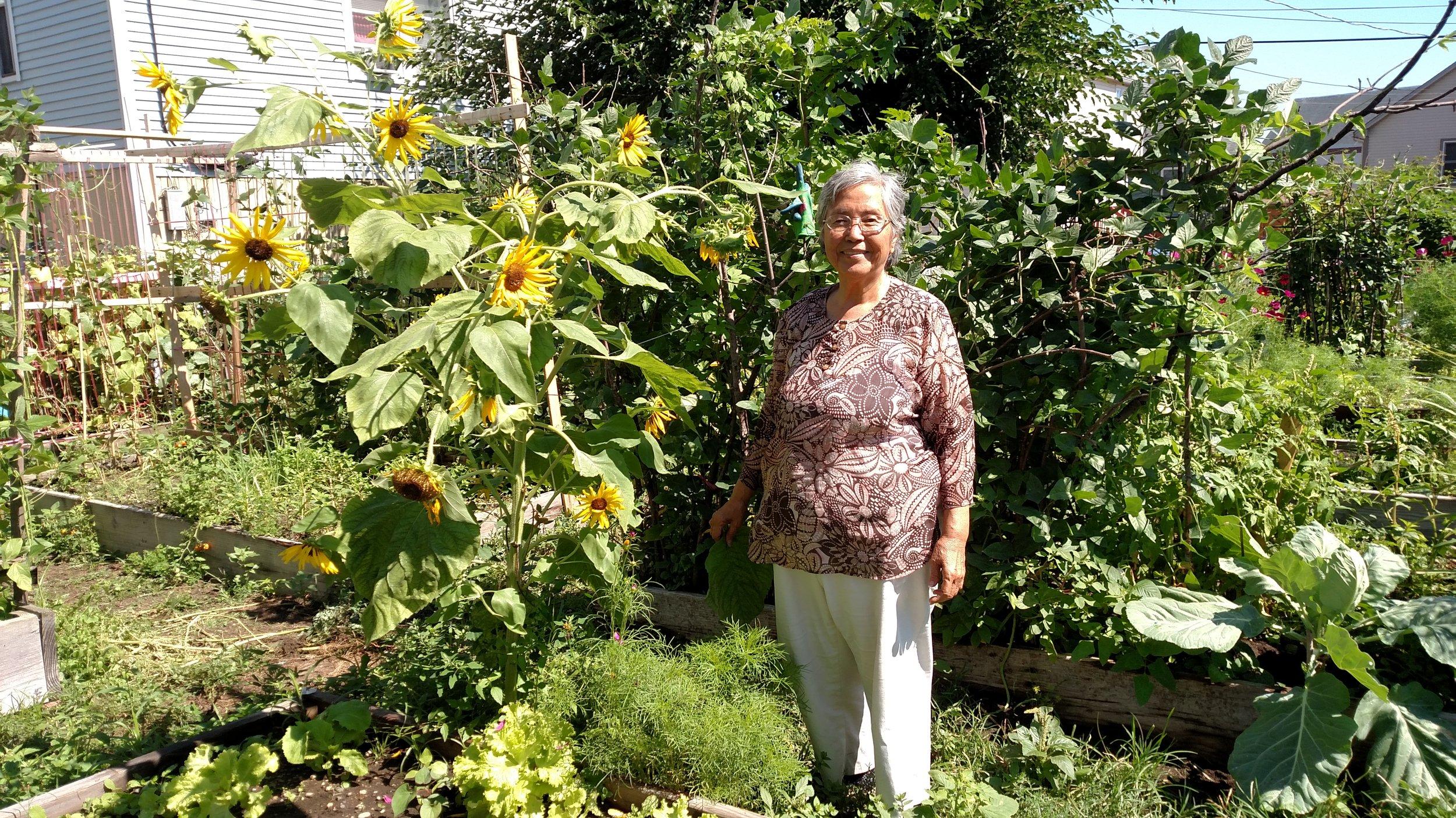 Gardens make good neighbors - and vice versa