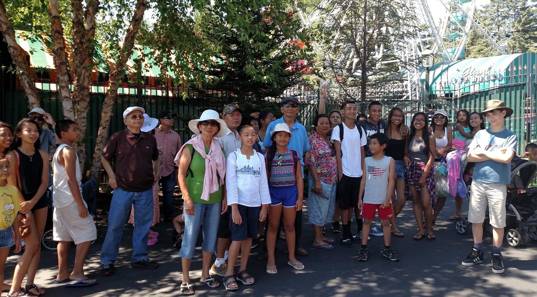 Highlands neighborhood field trip to Lake Canobie