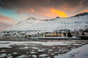 Icy Fjord, Seydisfijordur, Iceland by Shaun Reilly