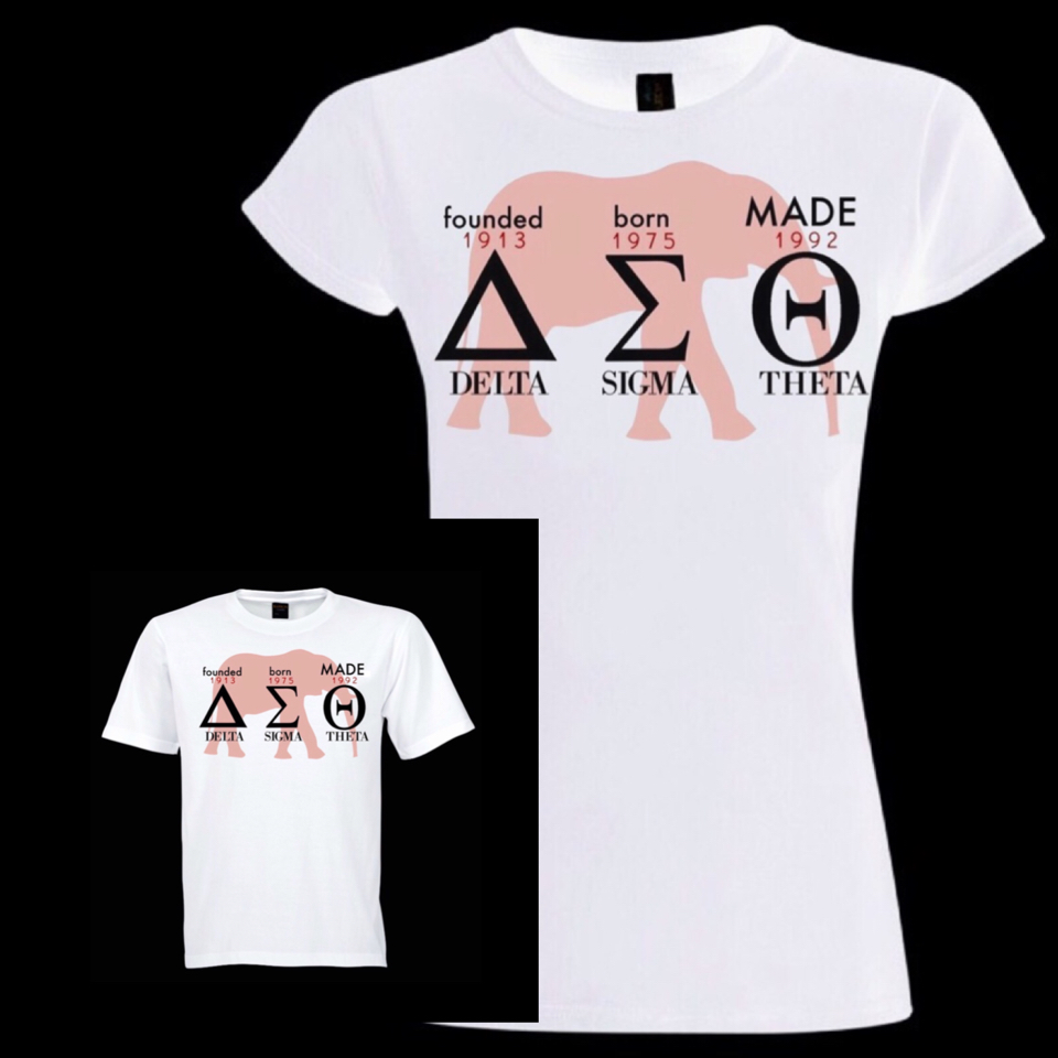 MADE Shirt (Ladies' Boyfriend Cut or Regular Cut) included in Registration Fee.