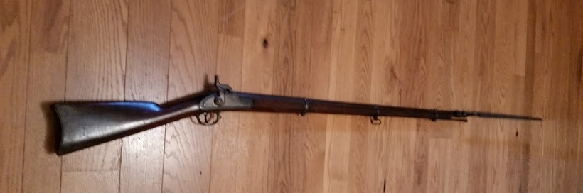 Great Great Grandfather Henry Martin Cook's rifle.