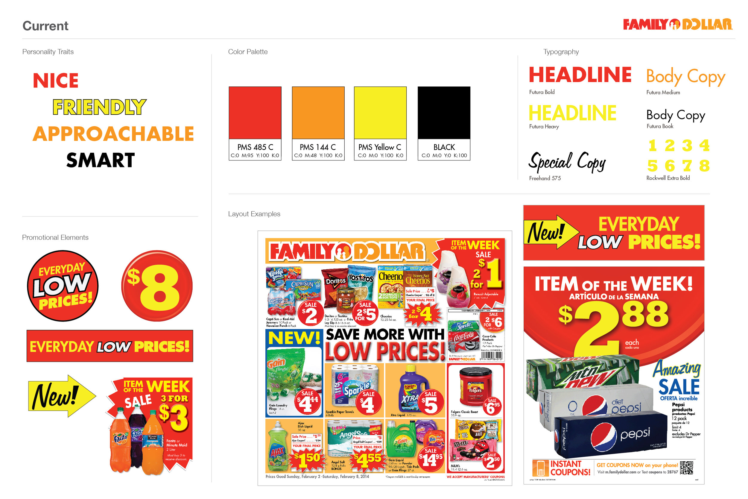 Original Family Dollar Brand Elements