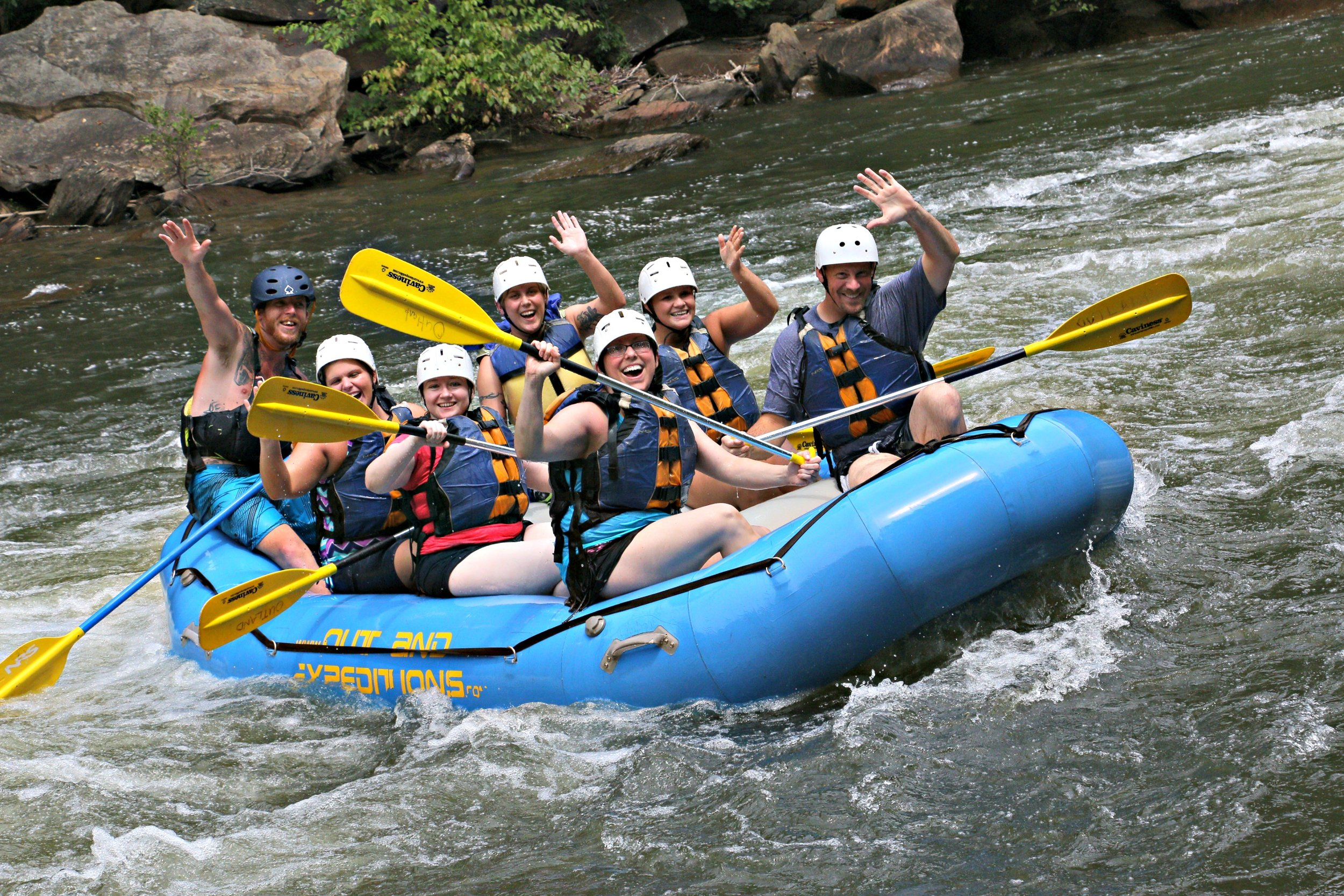 Tech Rafting, August 2017