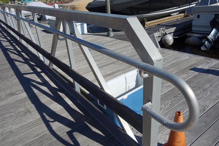 dock rails