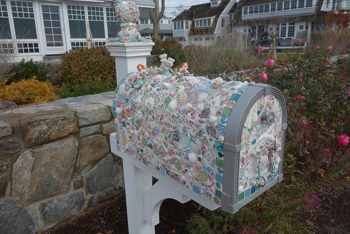 Rowayton, CT mailbox
