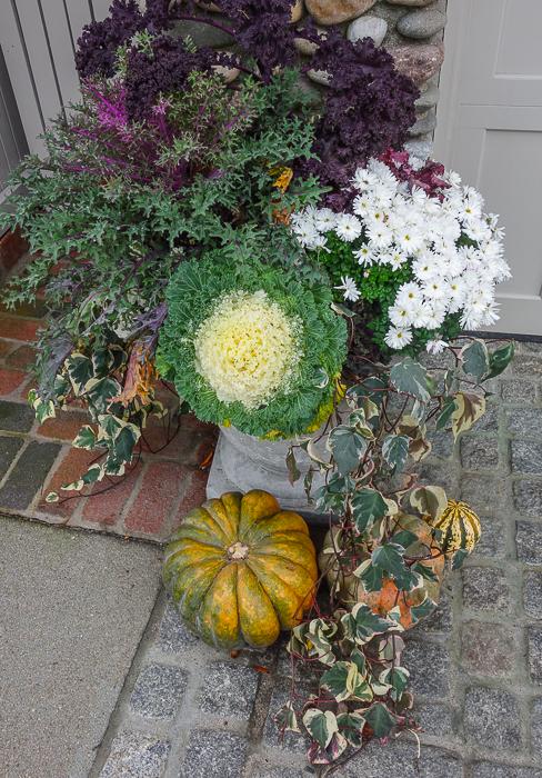 Rowayton, CT, doorway floral