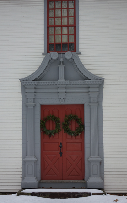Old Deerfield door
