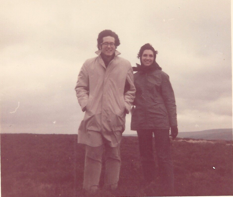 First walk on the moors
