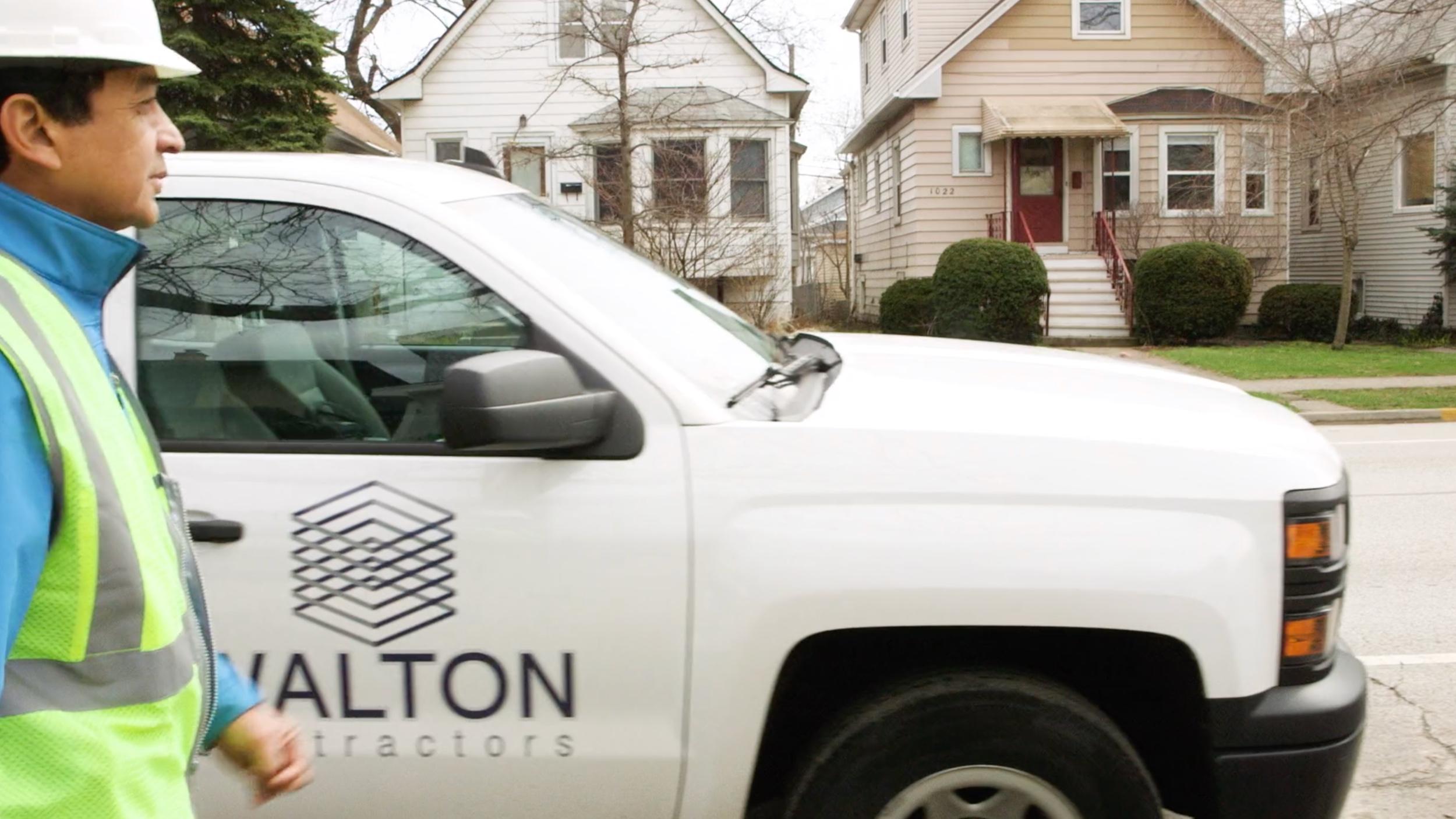 Walton Contractors Broadcast Commercial Video