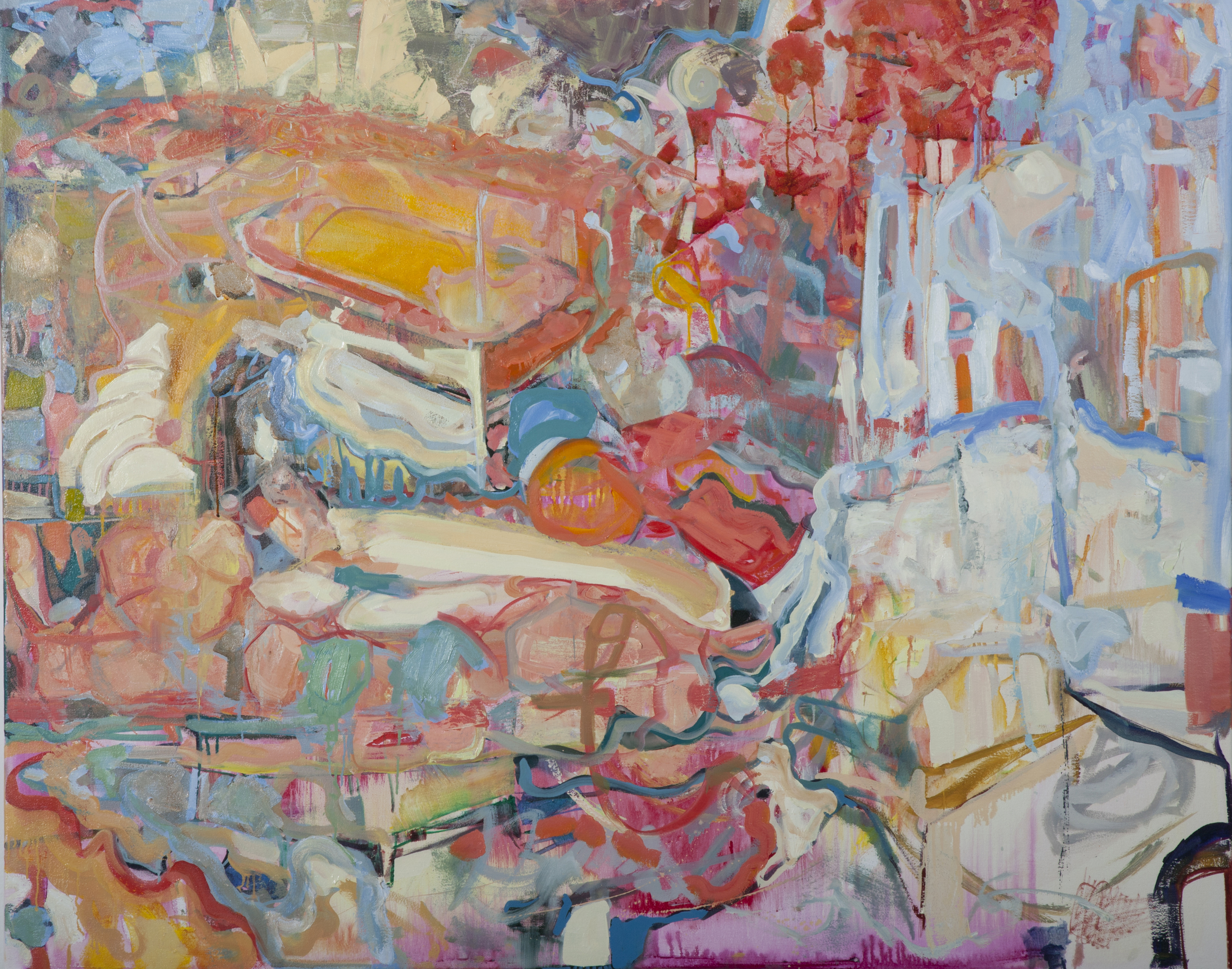 """Tide, 48"""" x 60"""" Corporate Collection"""