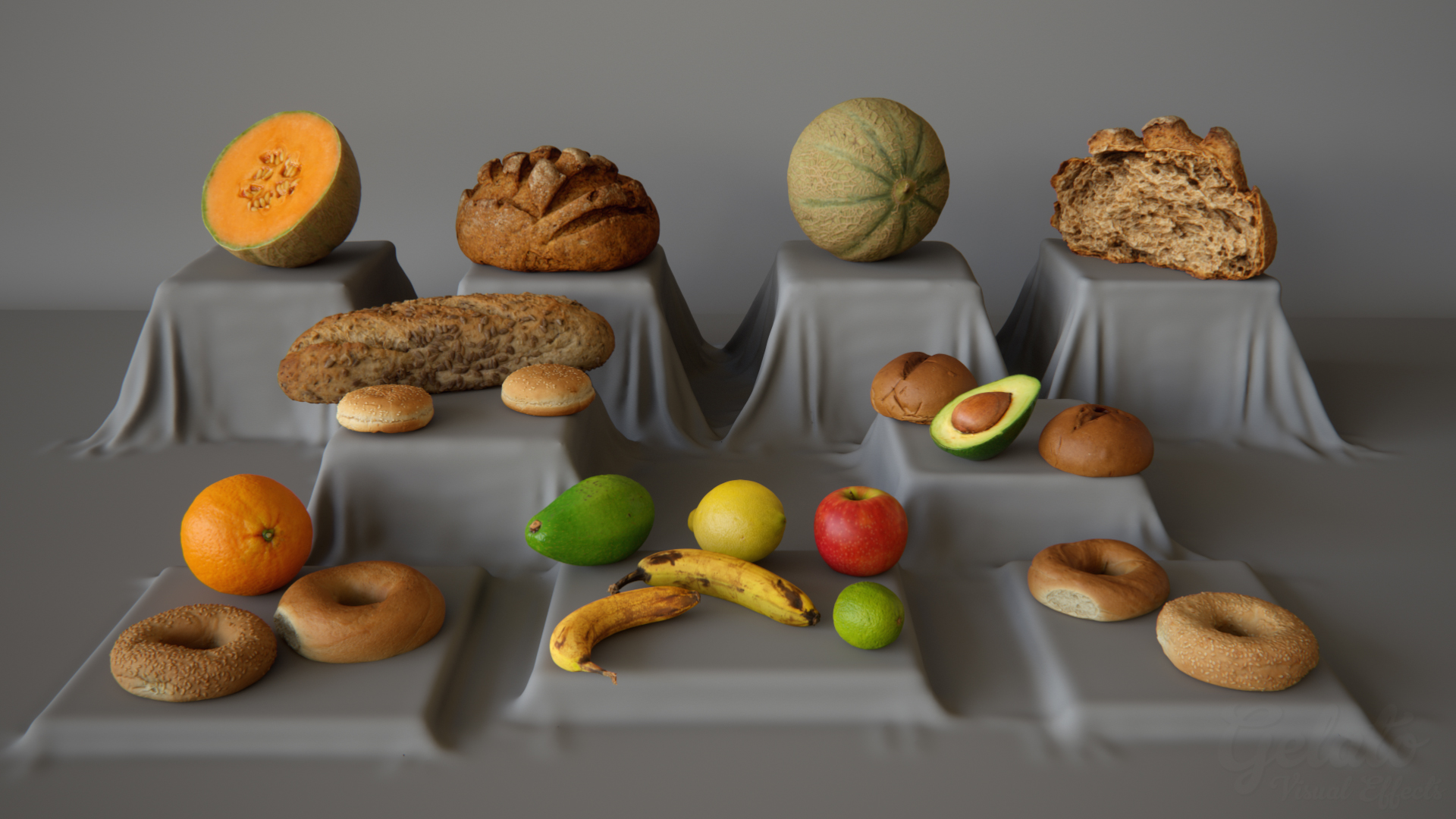 Just a few of the 3D Scans already availible in the 3D Scan Store.