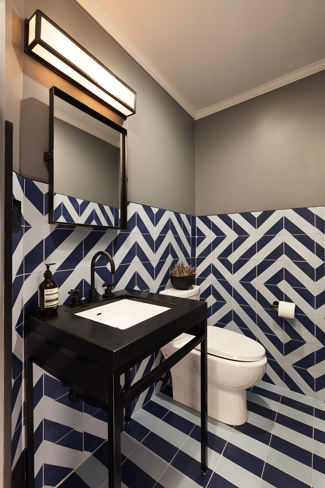 "HOME AND DESIGN, September 2019   ""Bold Statement: Top 10 Powder Rooms"""