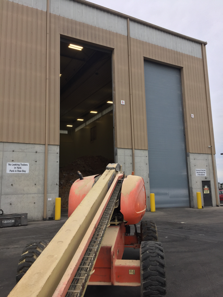 Rolling steel doors are ideal for many applications in industrial and commercial settings. Made from aluminum, steel, or stainless steel slats, in a variety of gauges, These doors are built to last and hold up to the grit and grime of harsh environments while maximizing head space for interior operation.