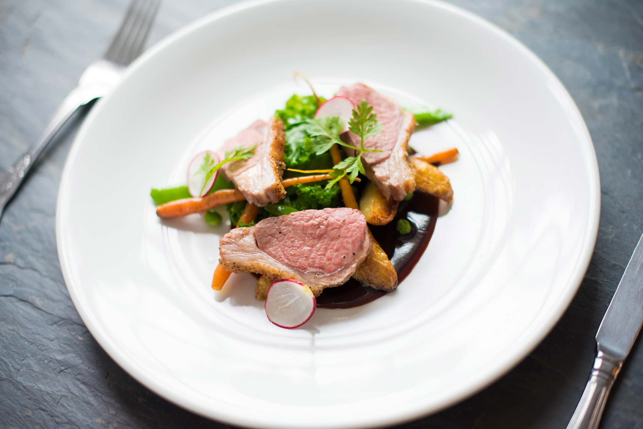 The Manor Croyde Food