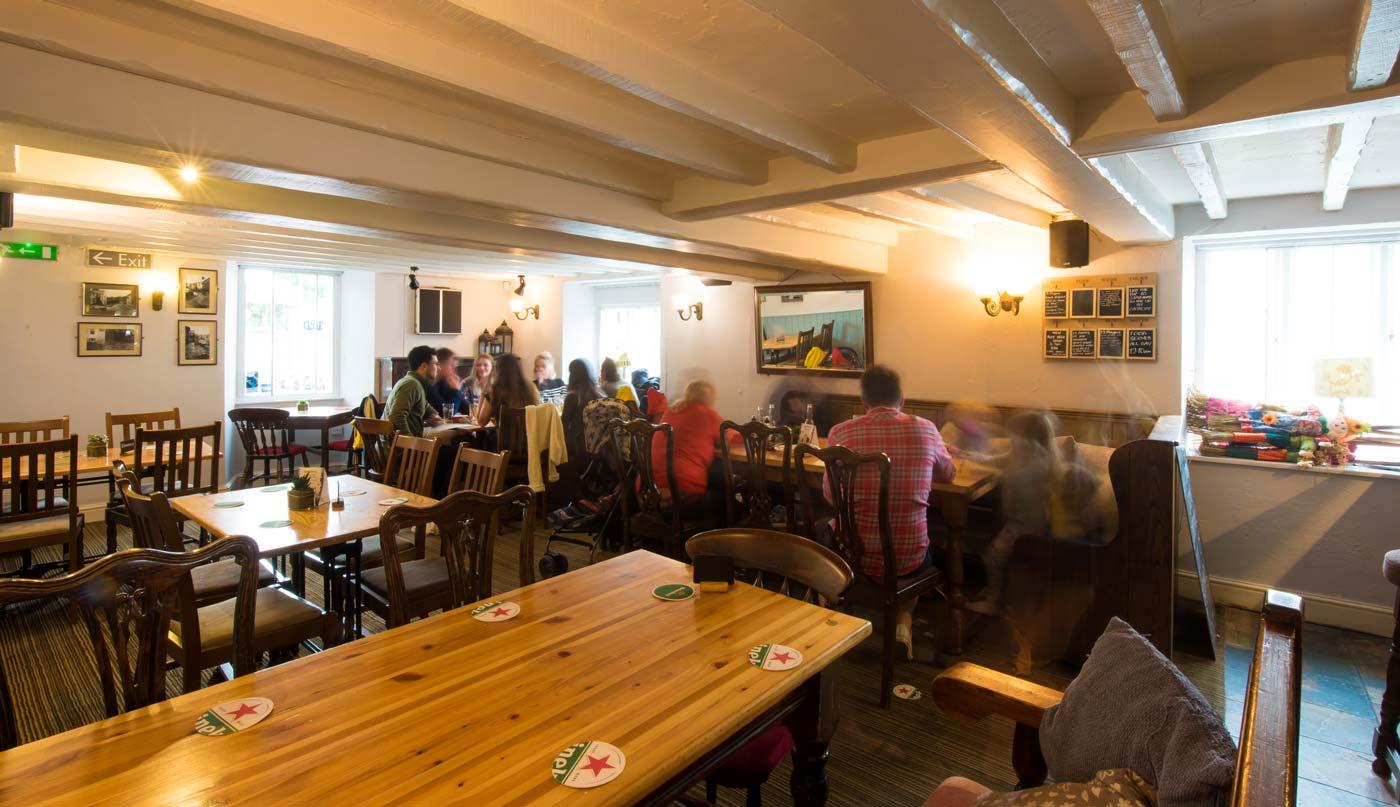 The Manor House Croyde Pub food