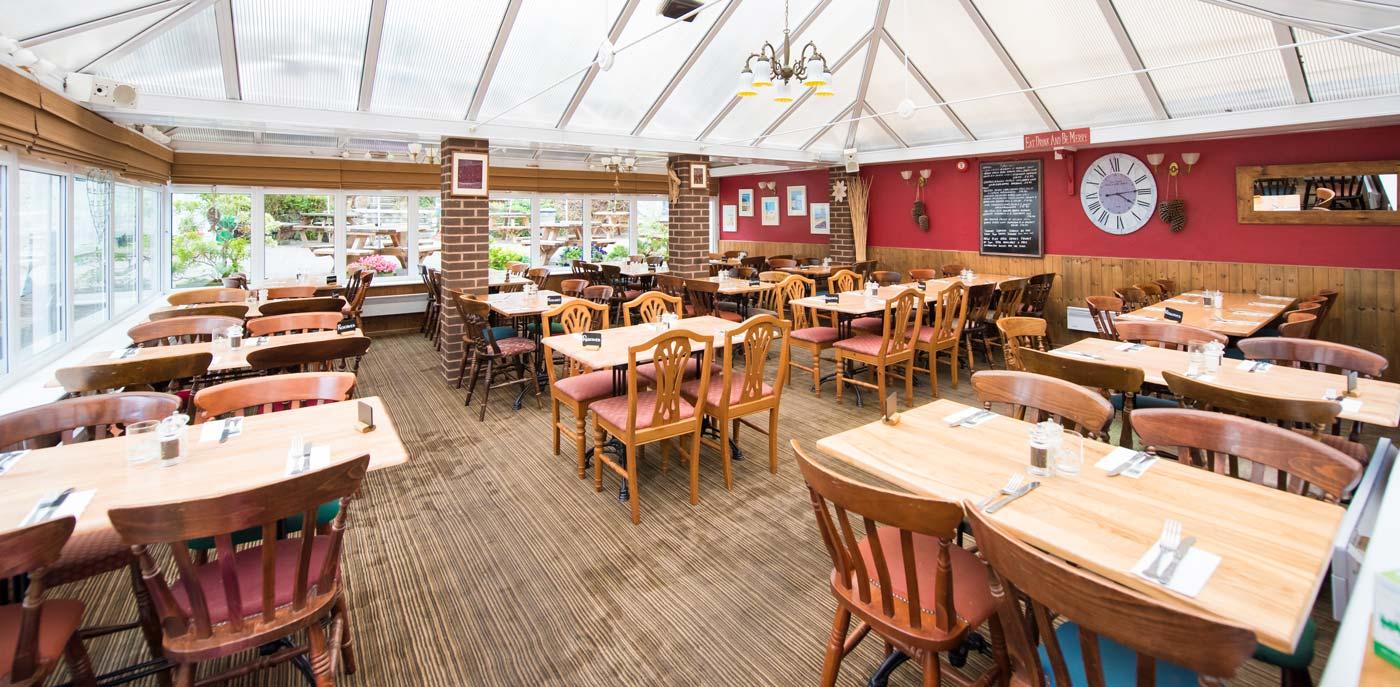 The Manor House Inn Croyde Restaurant conservatory