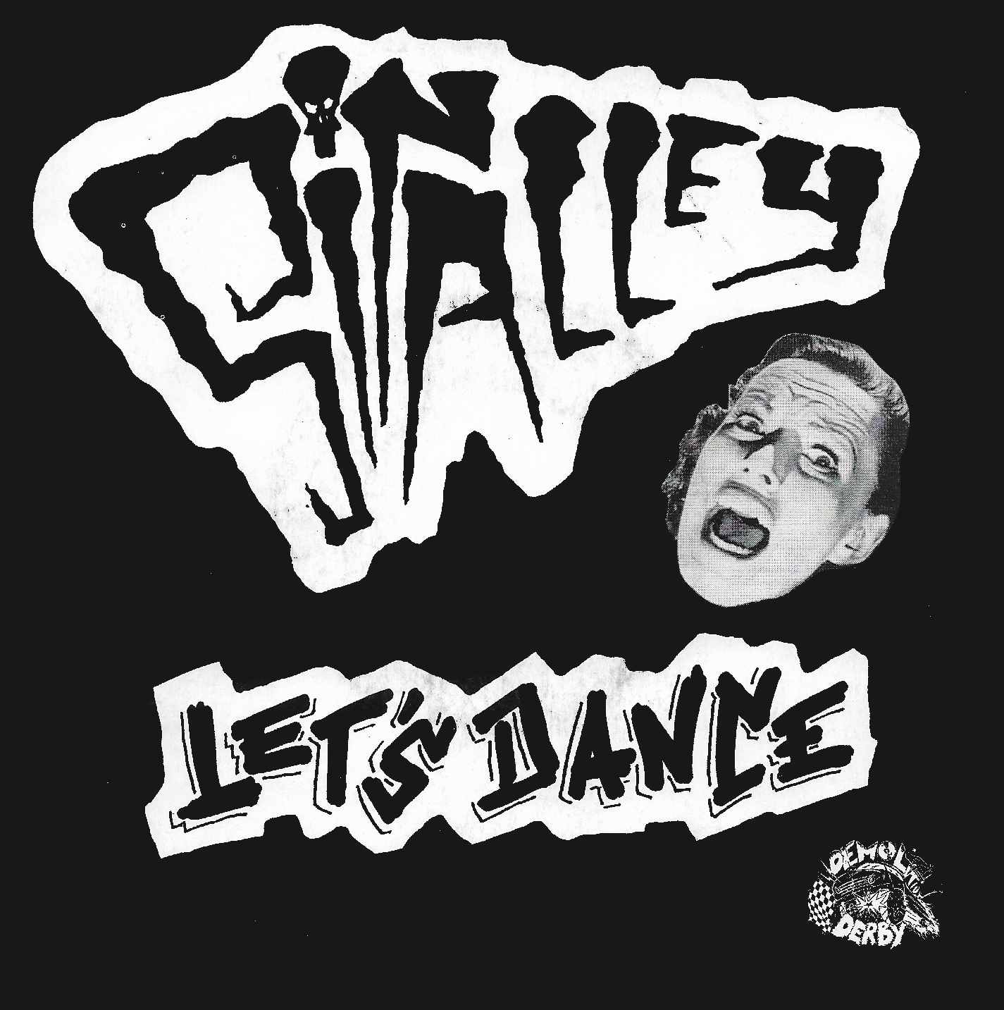 """<p><strong>SIN ALLEY</strong>7"""" Single """"Let's Dance""""<br> Demolition Derby - DD010 <a>1994</a></p>"""