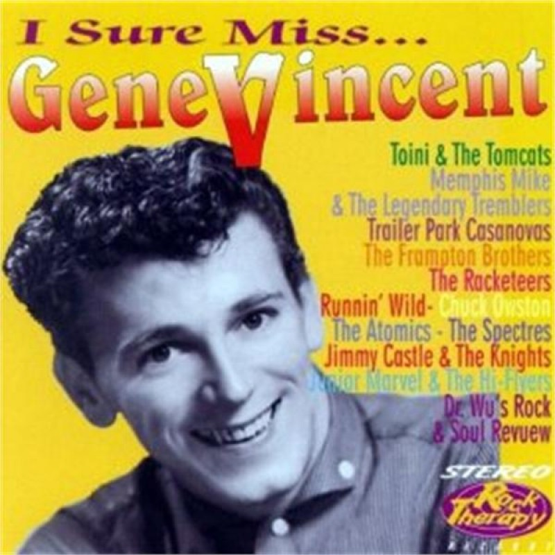 """<p><strong>CD """"I Sure Miss... Gene Vincent""""</strong> Rock Therapy - RTCD 200015 <br><b>Runnin' Wild</b> <i>My Heart</i><br><b>Runnin' Wild</b> <i>Everybody's Got A Date</i><br> <a>1999</a></p>"""