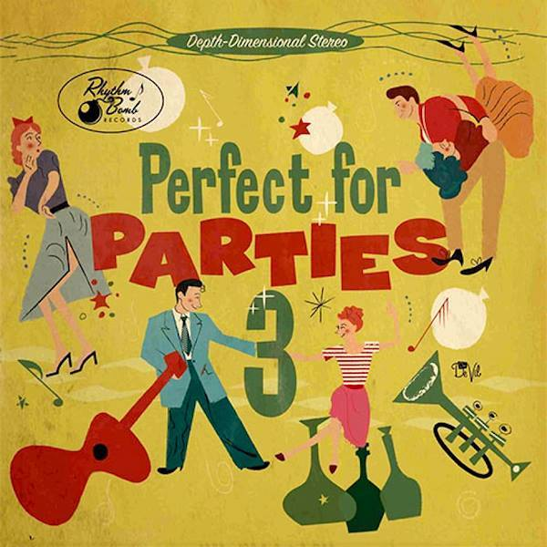 """<p><strong>CD """"Perfect For Parties - Volume 3""""</strong> Rhythm Bomb - rbr 5820 <br> <b>Crystal & Runnin' Wild</b> """"<i>You Gotta Go</i>""""<br> <a>2015</a></p>"""