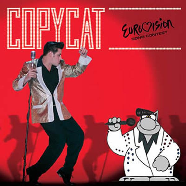 "<p><strong>COPYCAT</strong> CD Single ""Copycat"" (luxe-editie)<br> Team 4 Action - T4A 0902<br> drums op ""Copycat (Demix)""<br> <a>2009</a></p>"