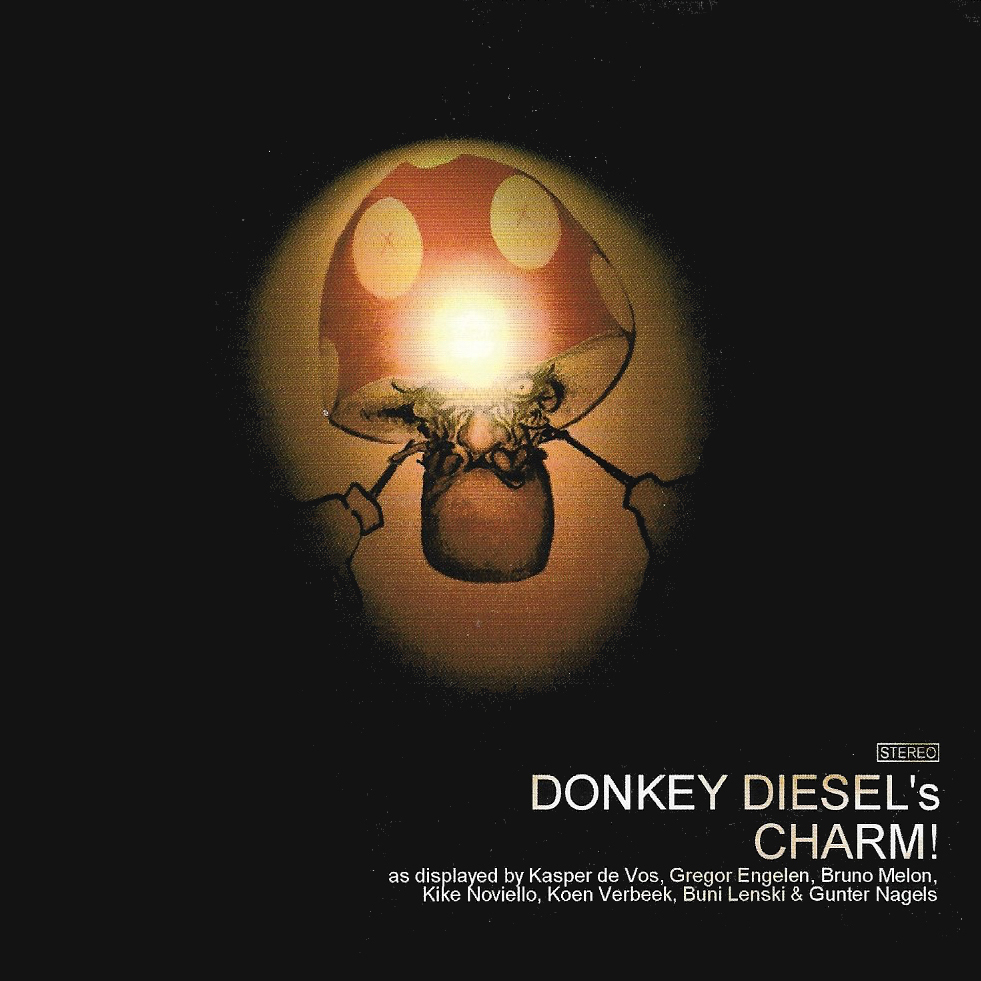 """<p><strong>DONKEY DIESEL</strong>LP album """"Donkey Diesel's Charm""""<br> Donkeytron - DT 1001LP <a>2005</a></p>"""