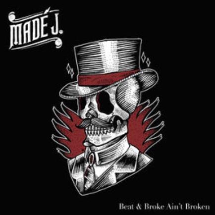 "<p><strong>MADé J</strong> CD Album ""Beat & Broke Ain't Broken""<br> Mottow Soundz - MOWCAT 1407<br> drums op ""Don't Play That Way""<br> <a>2014</a></p>"