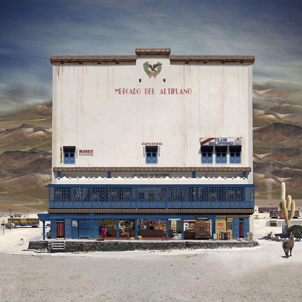 Mercado del Altiplano, 2014
