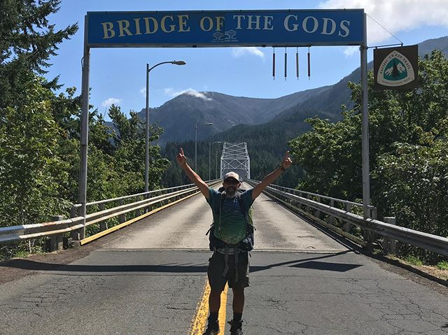 We've made it to the end of Oregon and have 495 miles to go to Canada. Now on to Washington. ✌️#pct2019 #pctclassof2019 #pct #rei1440project #optoutside #getoutside #PCTig #withguthook #trekthepct #trekkingtoes