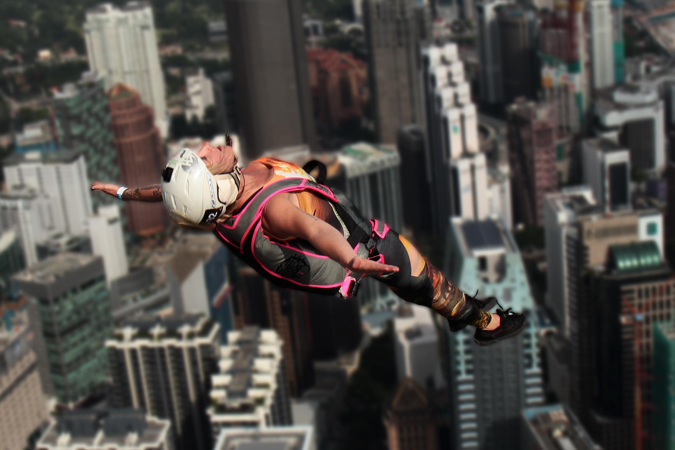 MenaraKL BASE jump