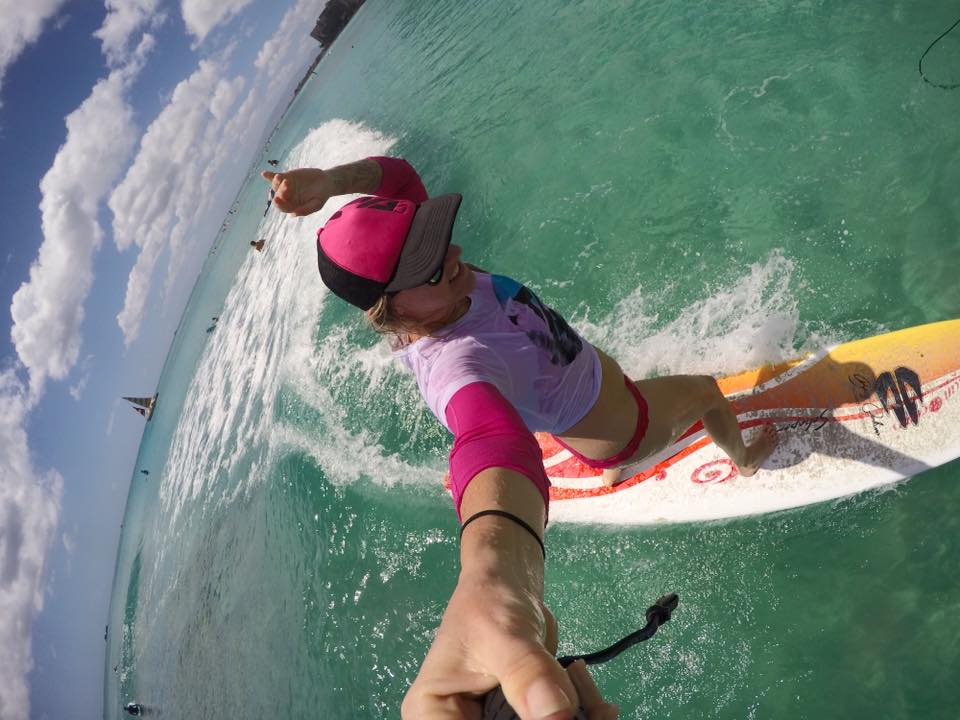 Surfing Waikiki Beach Hawaii