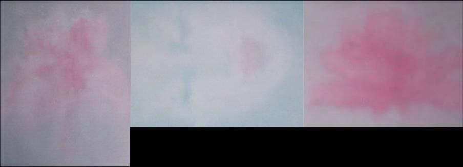 Eressos Blue: Flower #1, Face #1, Flower #2 (2005)