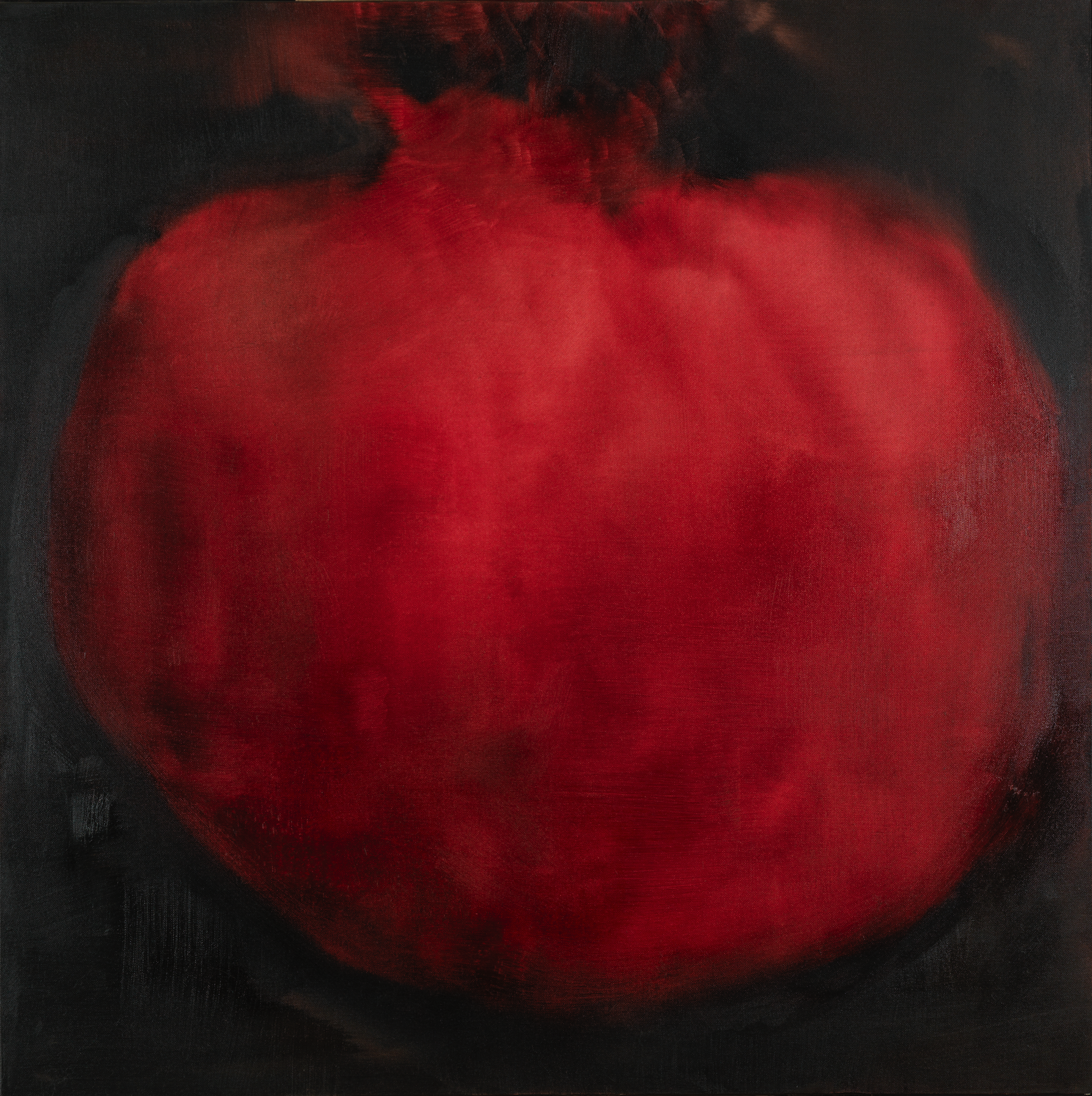 Punica Granatum 2012 oil on canvas 100x100cm