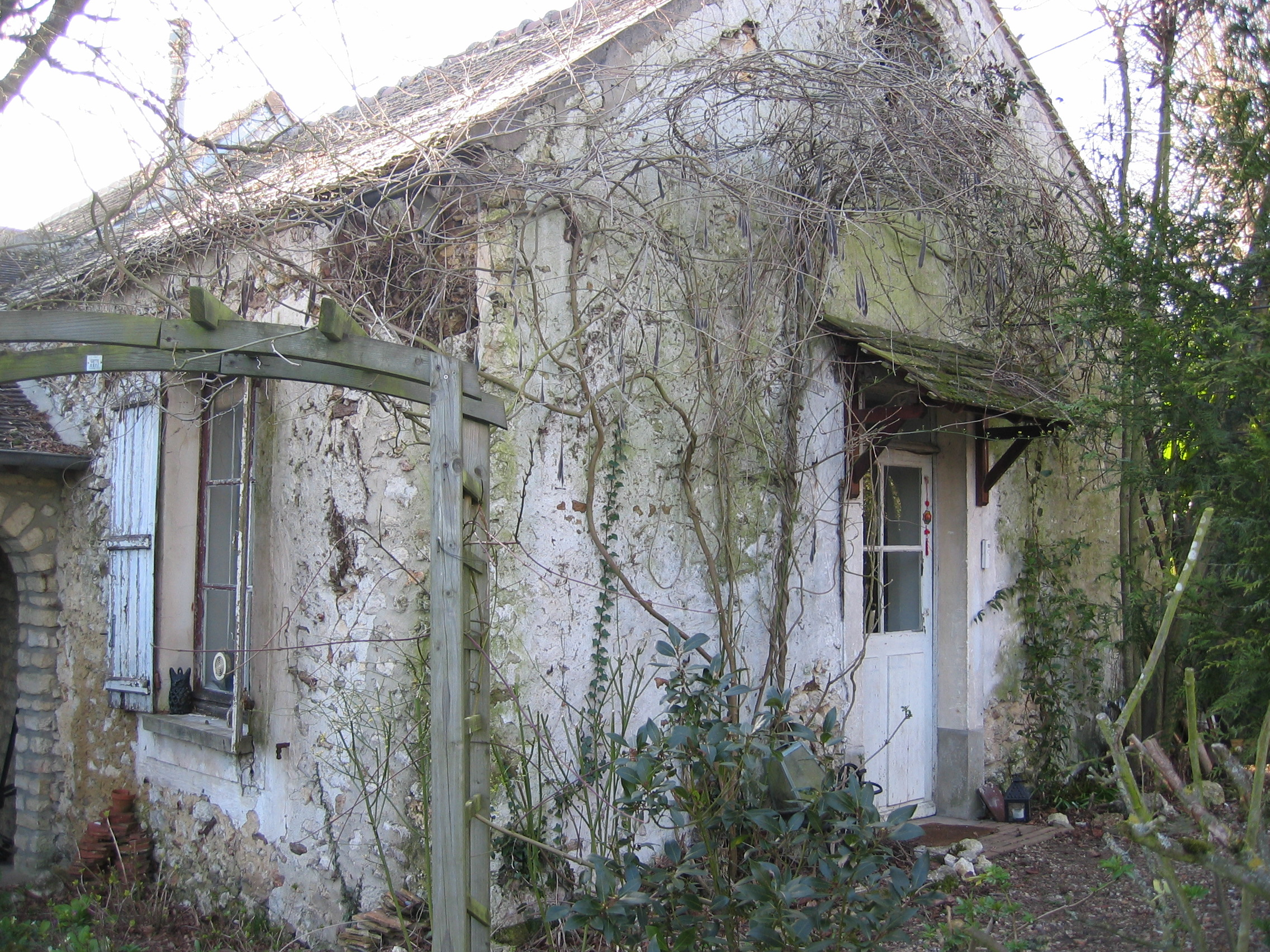 MY former studio in Septeuil, France 2007-2008.