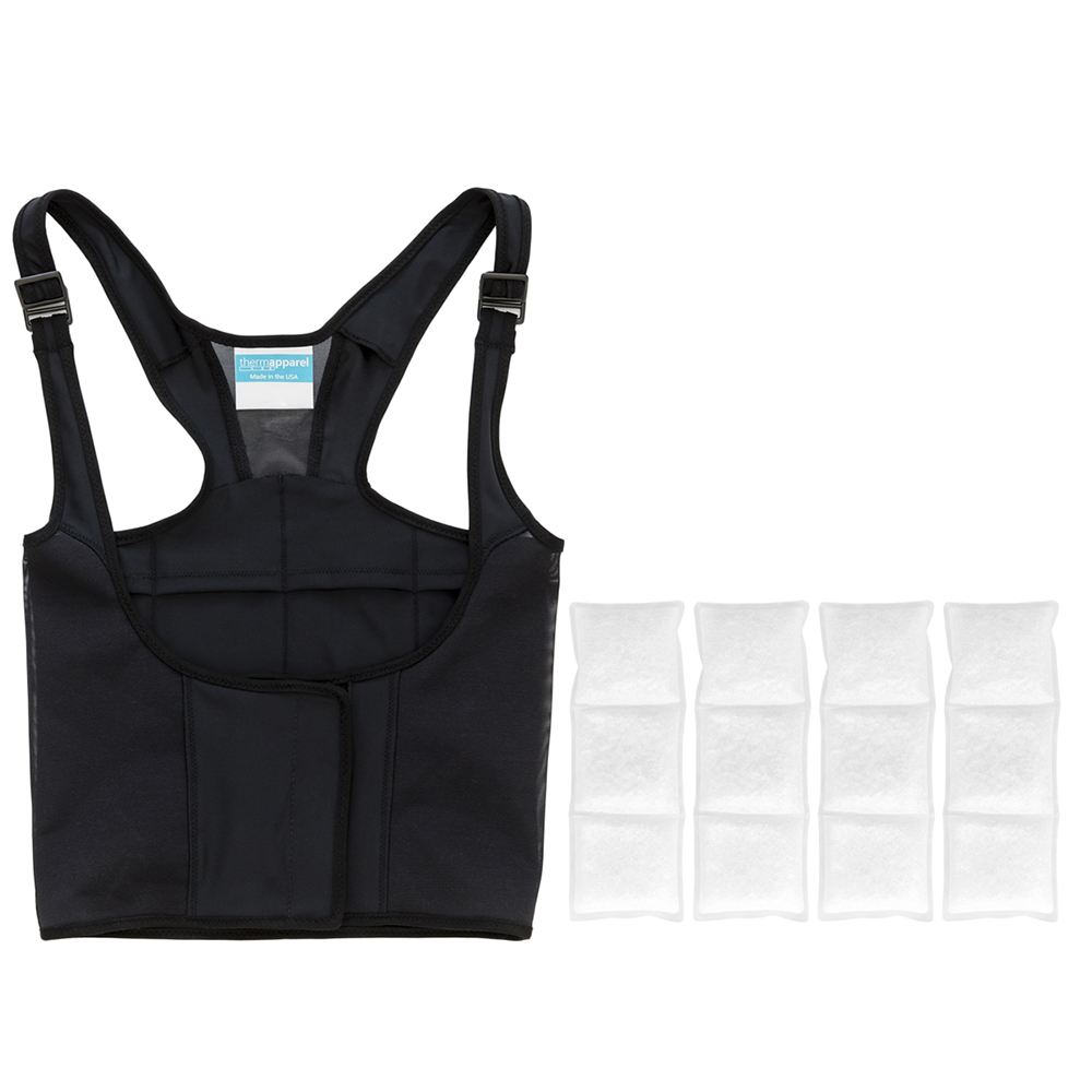 UnderCool Bundle - $199  1 UnderCool Cooling Vest + 1 set (4 packs) of PCM Cooling Packs