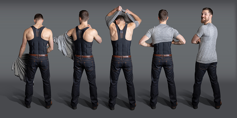 ThermApparel   UnderCool Cooling Vests  are a discreet way to stay cool. (image provided)