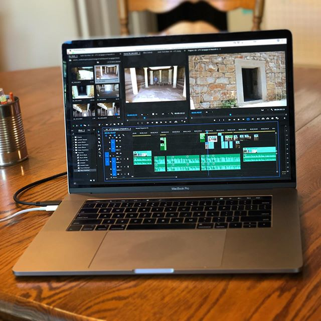 Family is away for the week, so I'm logging some extra editing time on @appianmedia 's upcoming series. . . . . #workingontheweekend #video #videoediting #videoproduction #behindthescenes #appianmedia #lessonsfromtheland #freelanceisfreedom #bible #israel