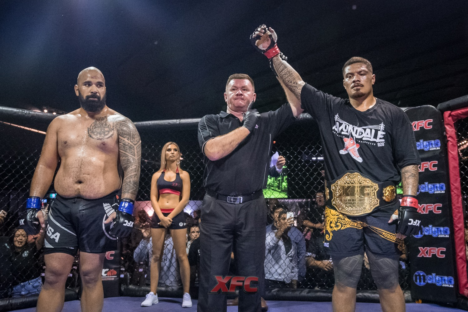 Justin Tafa - Justin Tafa is an Australian Heavyweight Mixed Martial Artist. The current XFC Heavyweight Champion, Justin has his sight set on the next level of MMA.🔗Facebook | Instagram