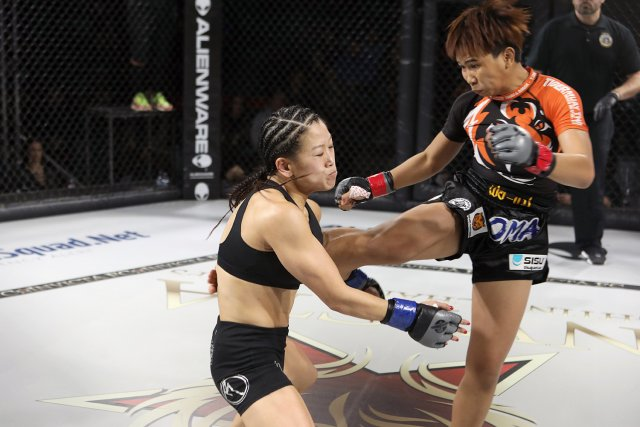 Loma Lookboonmee - Loma Lookboonmee is the first Thai female fighter to fight for the all female MMA promotion Invicta Fighting Championships. A veteran of over 100 muay thai fights, Loma turned her attention to MMA after earning a scholarship to Tiger Muay Thai in Phuket, Thailand.🔗Facebook | Instagram | Twitter