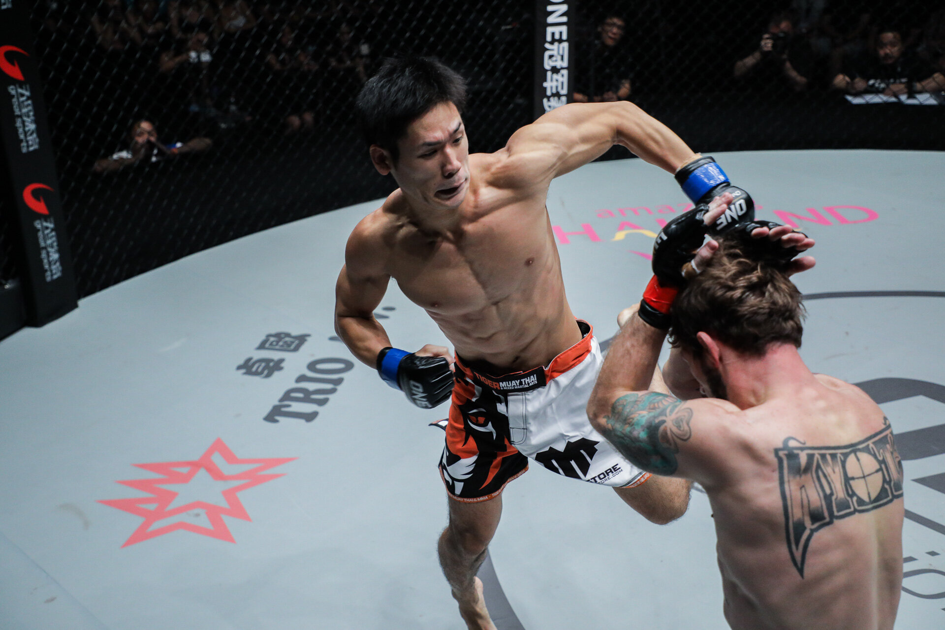 Tetsuya Yamada - Tetsuya Yamada is a Japanese Mixed Martial Artist fighting in the lightweight division of One Championship. He is a sponsored athlete at the famed Tiger Muay Thai gym in Phuket, Thailand.🔗Instagram