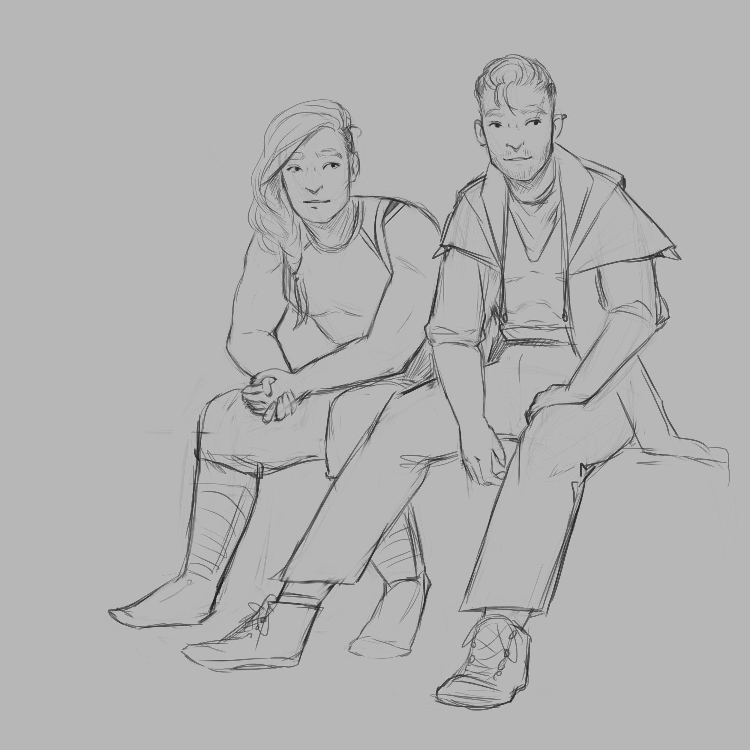 Anna and Kier