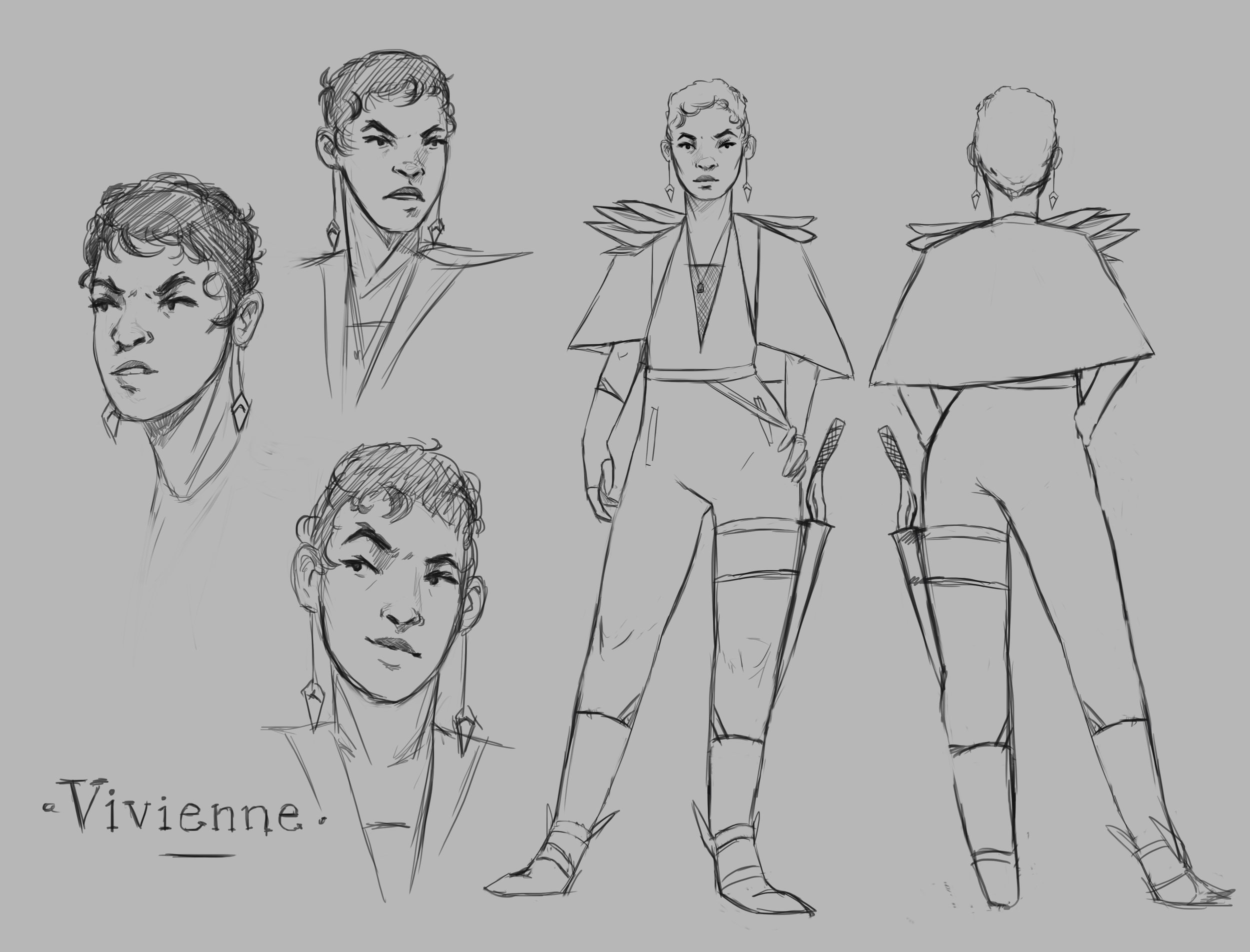 Vivienne character sheet