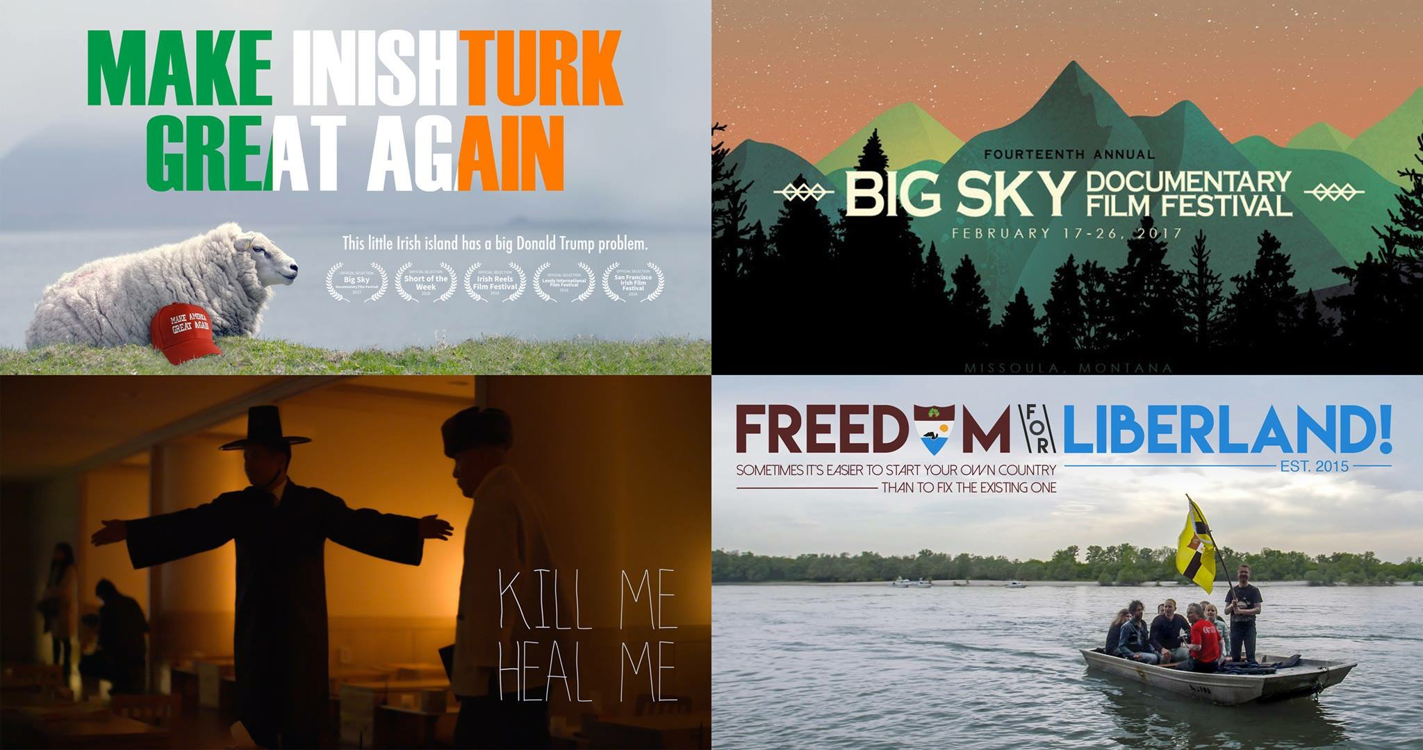 All 3 premiering at Big Sky Doc Film Fest in February!