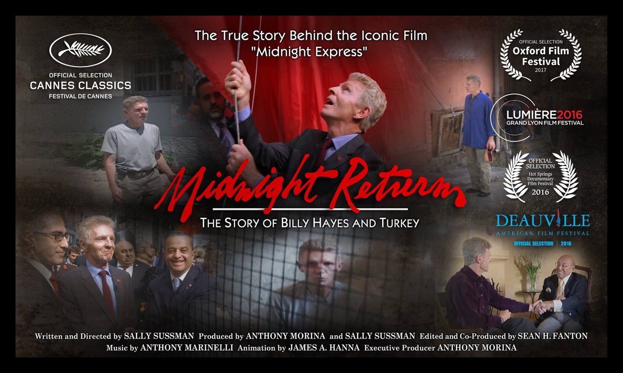 Midnight Return: The Story of Billy Hayes and Turkey makes its debut on Sundance Now 5/15//2107.