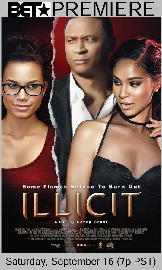 """Illicit"" premieres on BET and was the 2nd most watched movie on cable that night, under La La Land"